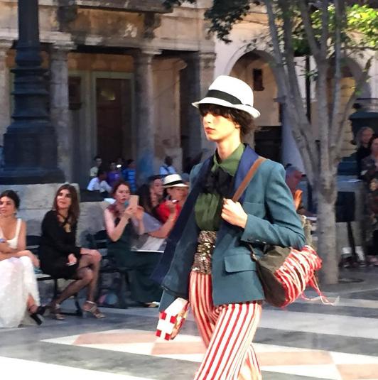 Défilé Croisière Chanel à la Havane à Cuba