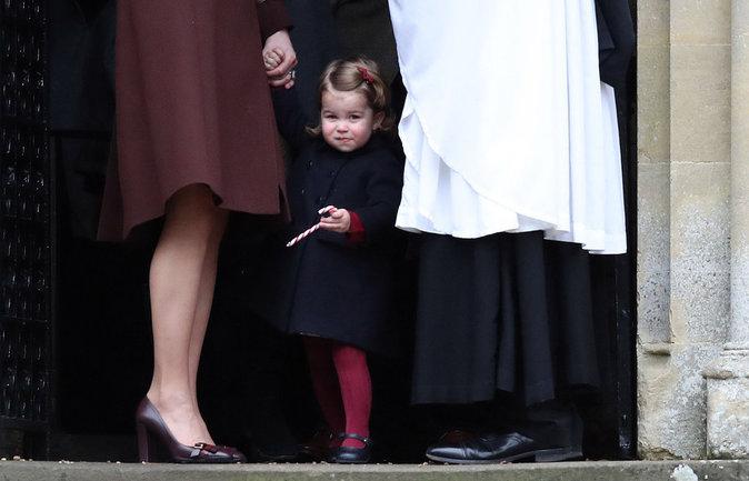 La Princesse Charlotte a assister à sa première messe de Noël avec son frère et ses parents ce dimanche 25 décembre