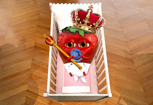 Photos : prénom, marketing, illuminations… Le Royal Baby 2 au cœur de toutes les folies !