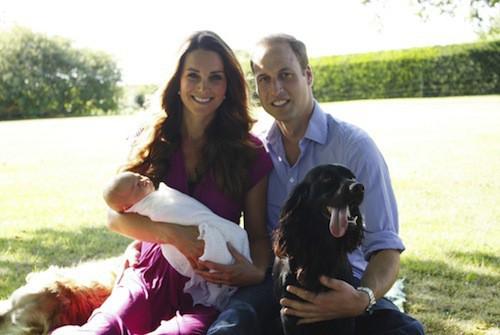 Photos : Prince George : déjà le portrait craché du prince William ?