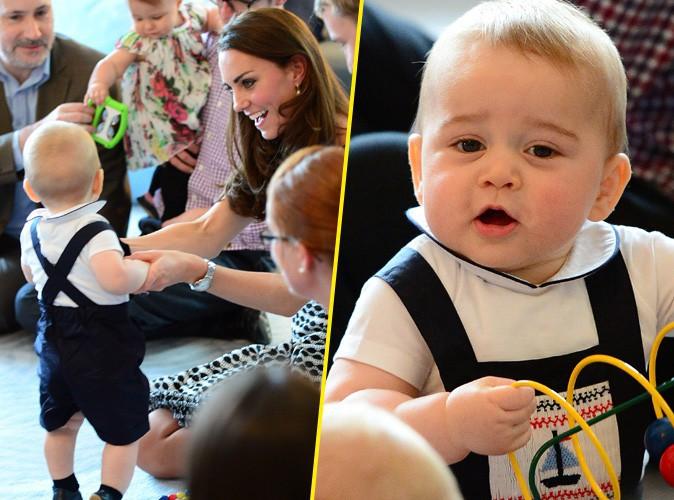 Prince George : un bébé à croquer qui fait la fierté de sa maman, Kate Middleton !