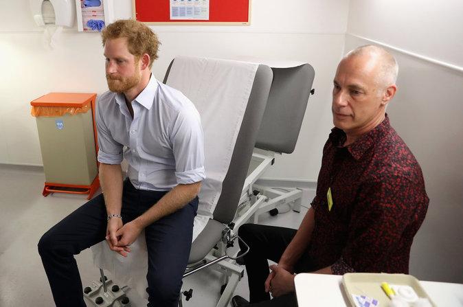 Le Prince Harry se fait dépister le 14 juillet
