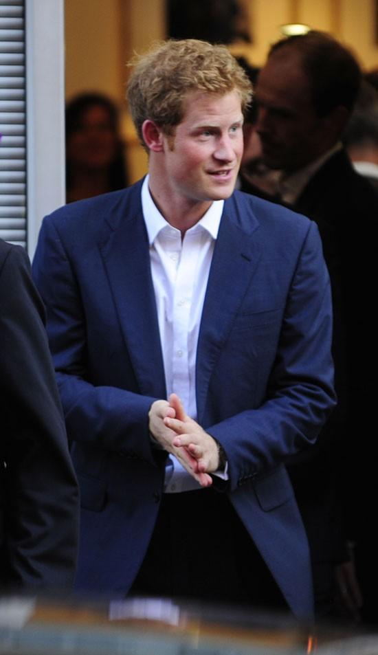 Le Prince Harry à Londres le 25 juillet 2013