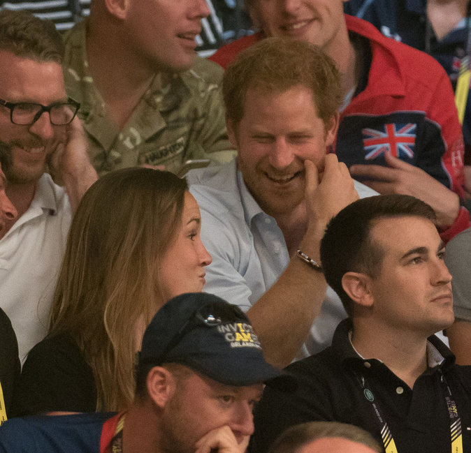 Photos : Prince Harry : il vibre devant les rugbymen des Invictus Games !