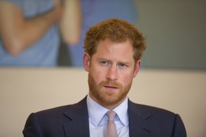 Le Prince Harry assiste à une table ronde le 7 juillet 2016 au King's College Hospital