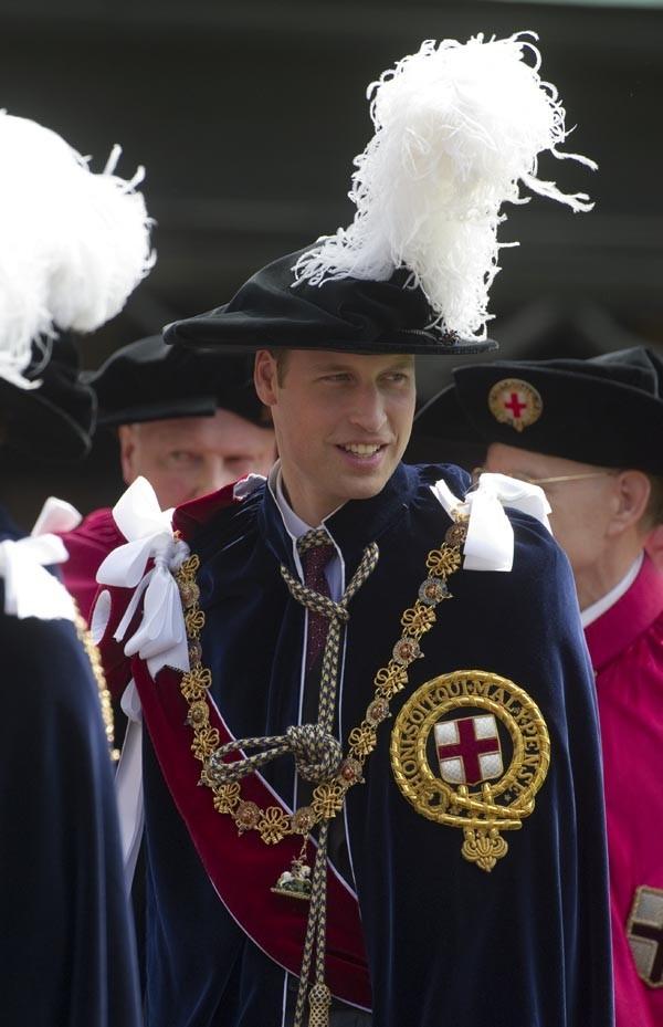 Le Prince William, obligé de suivre le protocole !
