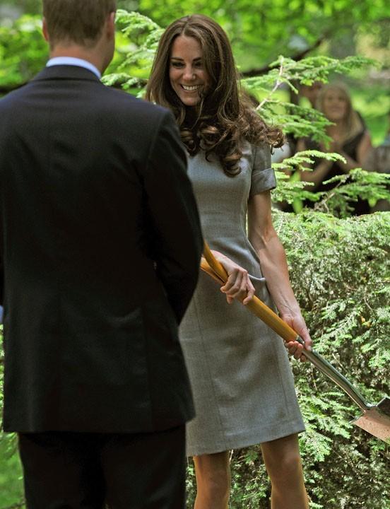 Kate Middleton, jardinière en chef !