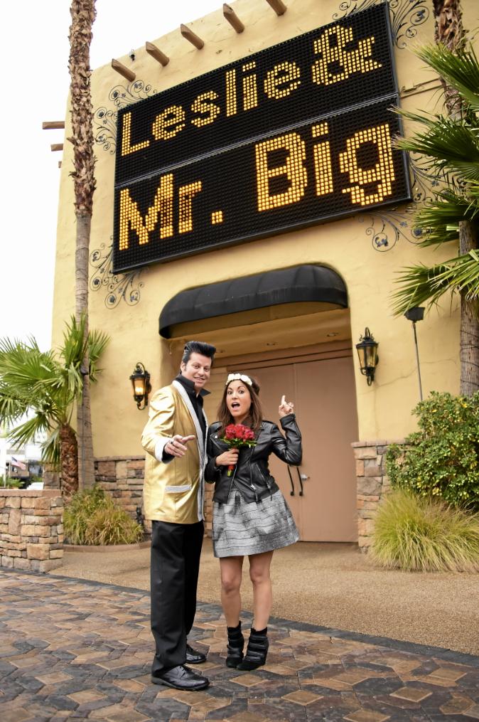 Photos : Public a testé pour vous : le mariage à Vegas !