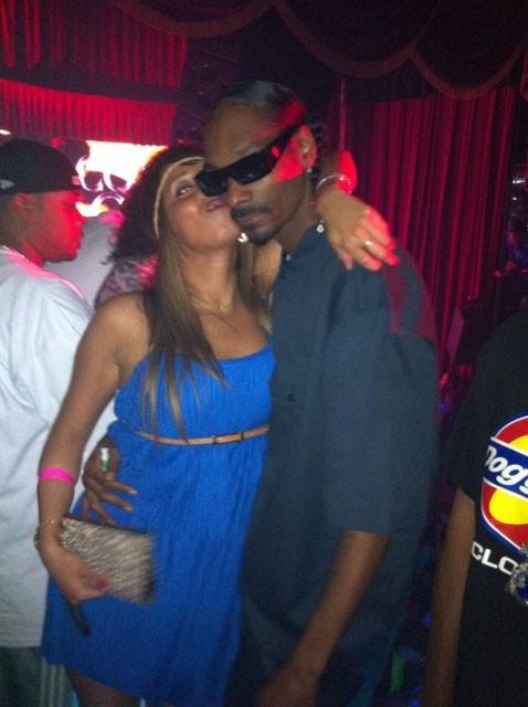 Snoop Dogg complice avec Nadia, notre journaliste Public.