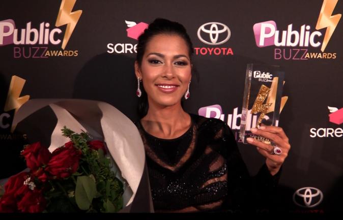 Ayem : Prix d'honneur des Public Buzz Awards