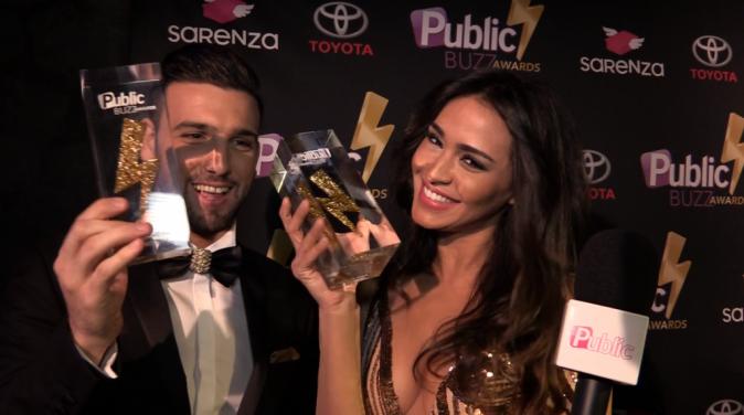 Leïla et Aymeric : Lauréats du Public Love Buzz Award