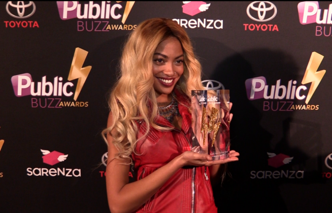 Tenny : lauréate du Public NewComer Award !