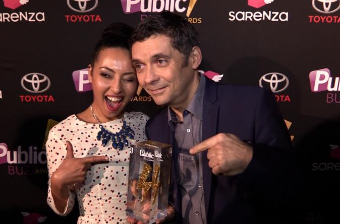 Thierry Moreau de TPMP : lauréat du Public TV Buzz Award