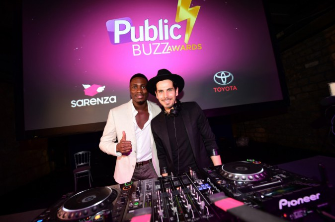 Photos : Public Buzz Awards : Christophe Beaugrand : un maître de cérémonie punchy !