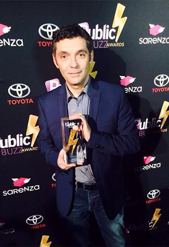 Photos : Public Buzz Awards : Thierry Moreau, Vincent Cerutti, Léonard Trierweiler... Les mâles de sortie pour Public !
