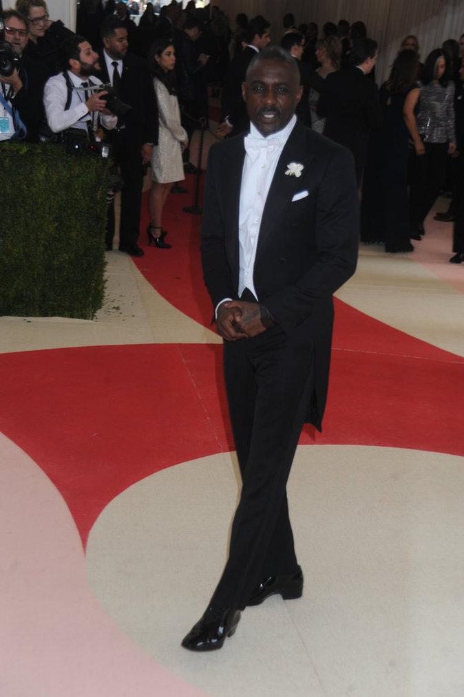 Photos : Public Man Crush : Idris Elba parmi les beaux gosses du Met Gala 2016 !