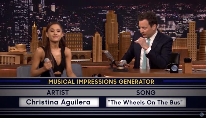 Ariana Grande le 15 septembre 2015