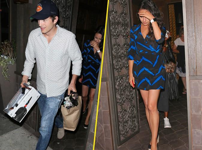 Ashton Kutcher et Mila Kunis le 24 août 2015