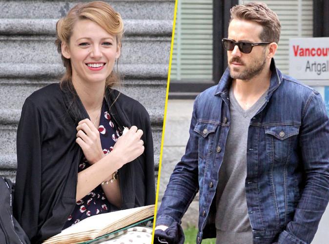 Quand Blake Lively tourne, son charmant mari Ryan Reynolds n'est jamais très loin !