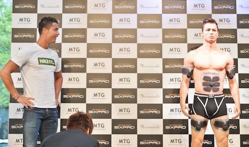 Photos : quand Cristiano Ronaldo rencontre son double en silicone raté !