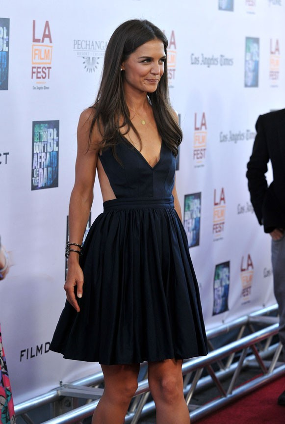 Katie Holmes lors de la première du film Don't Be Afraid of the Dark à Los Angeles, le 26 juin 2011.