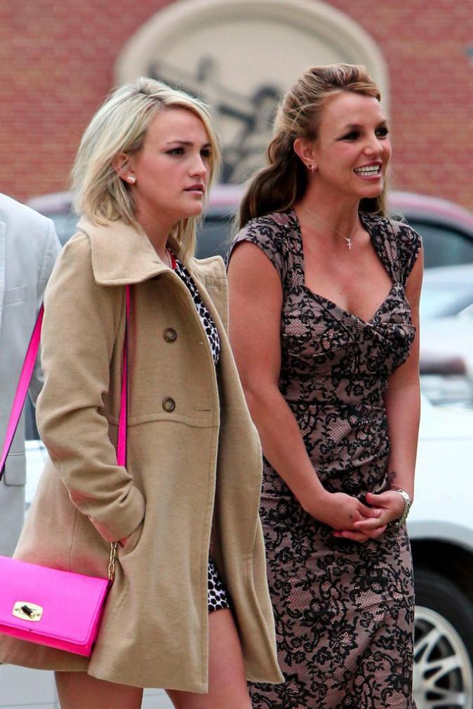 Jamie Lynn Spears aux côtés de sa soeur Britney