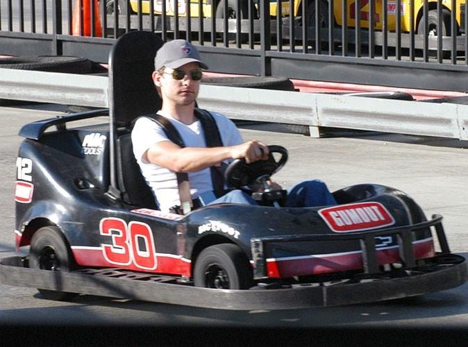 Tobey Maguire : Super Mario Kart !
