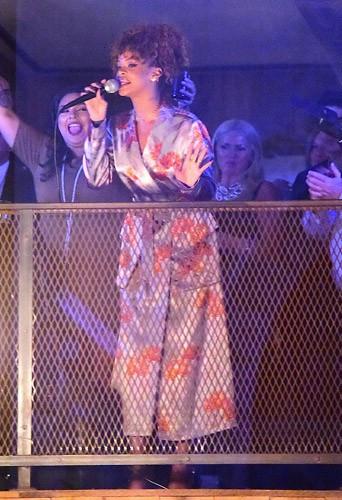 Photos : Quand Rihanna fait le show au mariage de sa styliste !