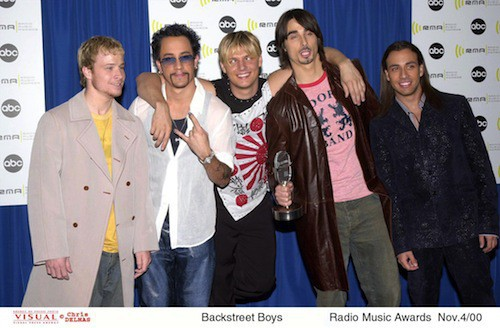 Les Backstreet Boys en 2000