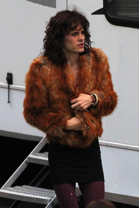 Jared Leto sur le tournage de The Dallas Buyers à la Nouvelle-Orléans le 15 novembre 2012