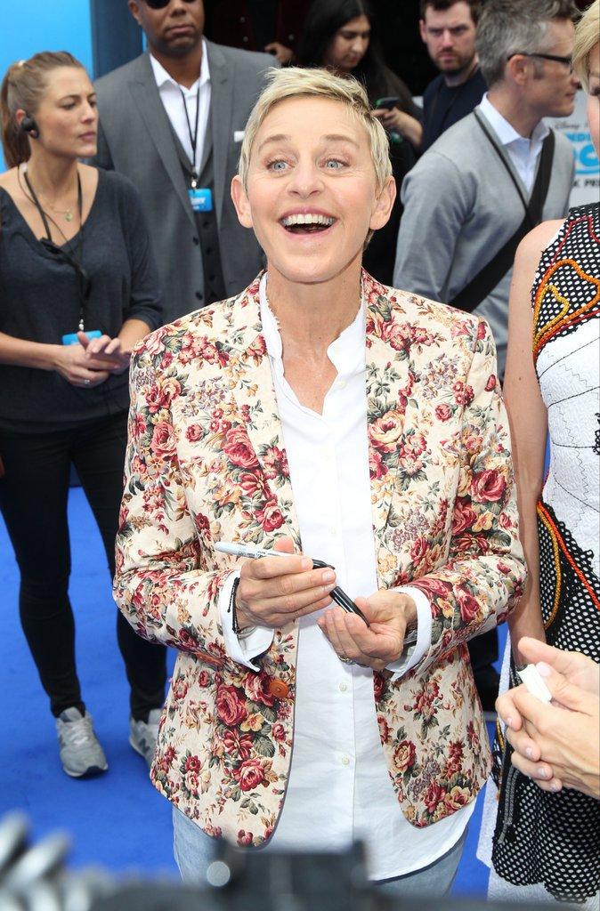 Ellen DeGeneres, animatrice TV : 75 millions de dollars
