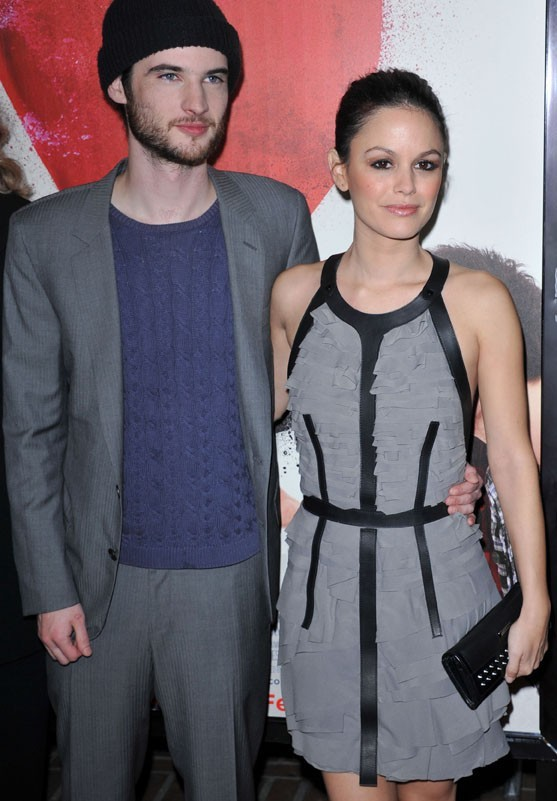 Rachel avec Tom Sturridge !