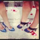 Les chaussures de Juliette Parizy et Sylvie Tellier