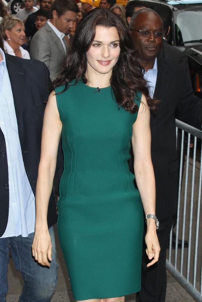 Rachel Weisz le 30 juillet 2012 à New York