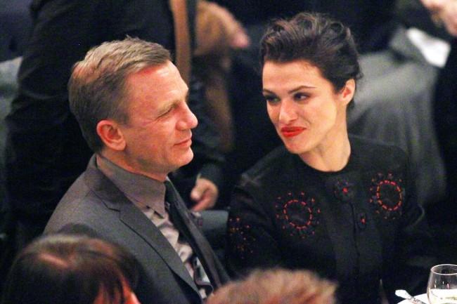 Daniel Craig et Rachel Weisz le 7 janvier 2013 à New York