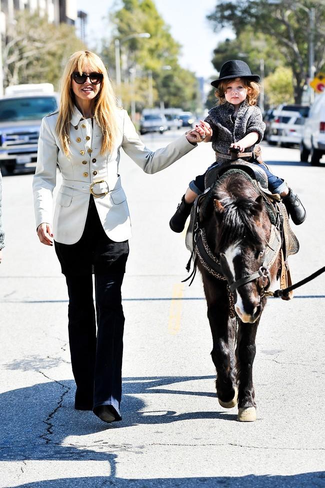 Rachel Zoe et Skyler le 17 février 2013 à Los Angeles