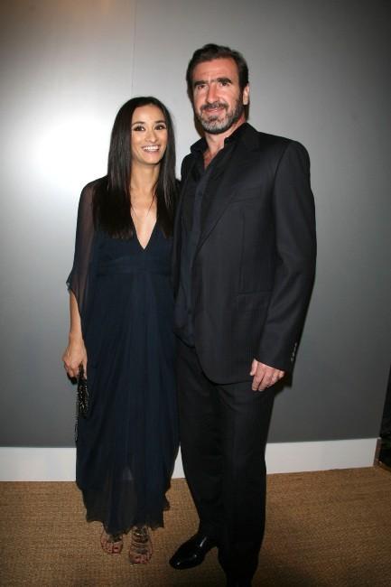 Rachida Brakni et son mari Eric Cantona.