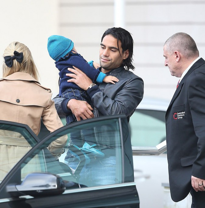 Radamel Falcao à Manchester City le 17 septembre 2014