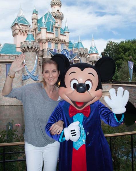 Céline Dion à Disneyland