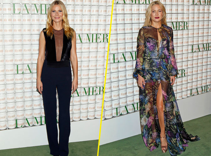 Gwyneth Paltrow et Kate Hudson le 13 octobre 2015