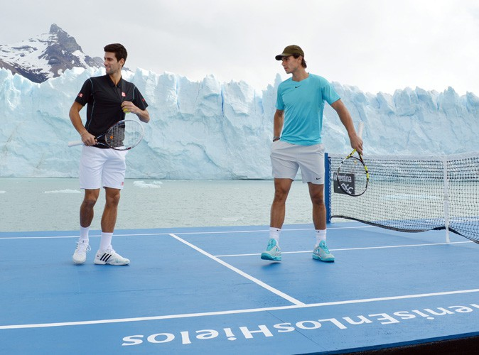 Novak Djokovic et Rafael Nadal en Argentine pour un match d'exhibition insolite le 22 novembre 2013