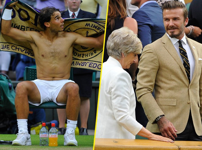 Rafael Nadal : il fait grimper la température à Wimbledon sous les yeux de David Beckham et de sa maman !