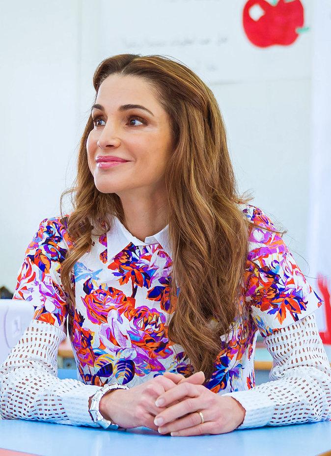 Rania de Jordanie fête ce 31 août 2016 ses 46 ans