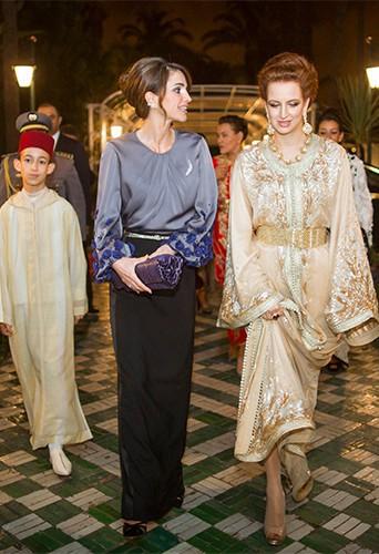 Photos : Rania de Jordanie et Lalla Salma du Maroc : retrouvailles royales à Rabat !