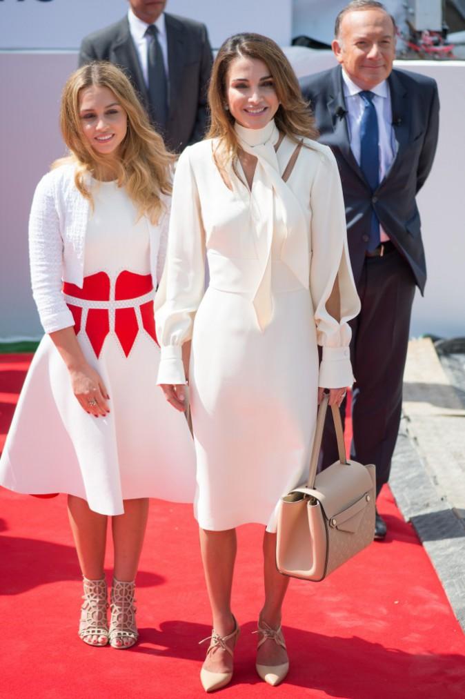 Rania de Jordanie et sa fille, le 26 août 2015