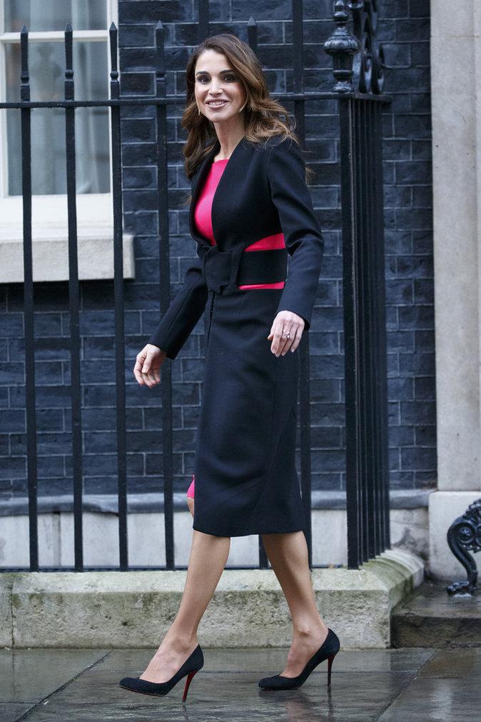 Photos : Rania de Jordanie : une vraie femme influente à Londres !