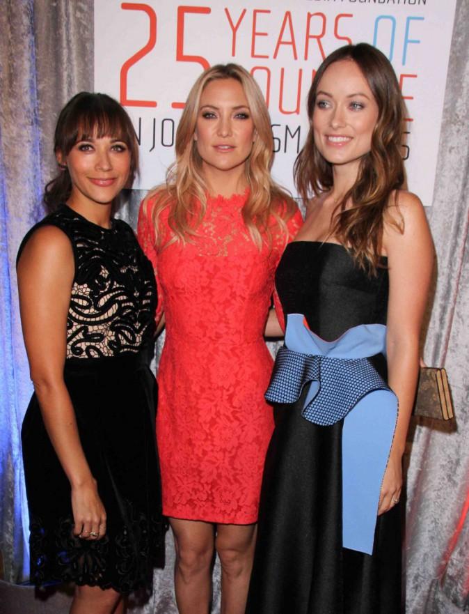 Rashida Jones, Kate Hudson, Olivia Wilde : trio glamour pour célébrer le courage des femmes !