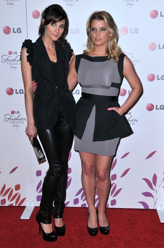 Ashlee et Jessica Simpson !