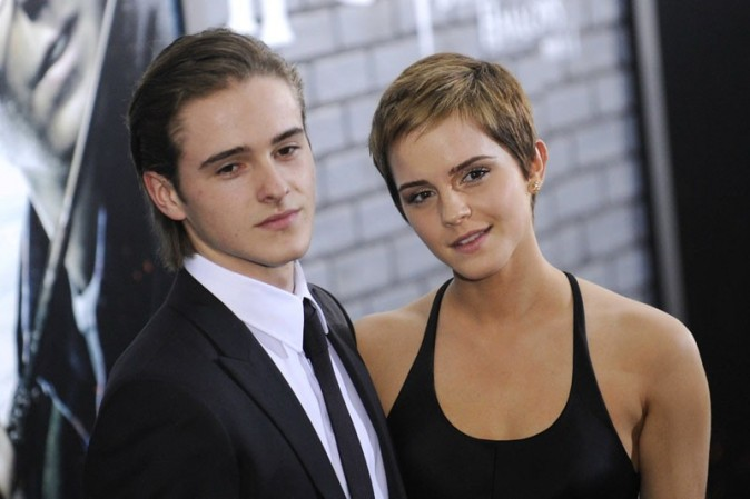Emma Watson avec son frère Alex !