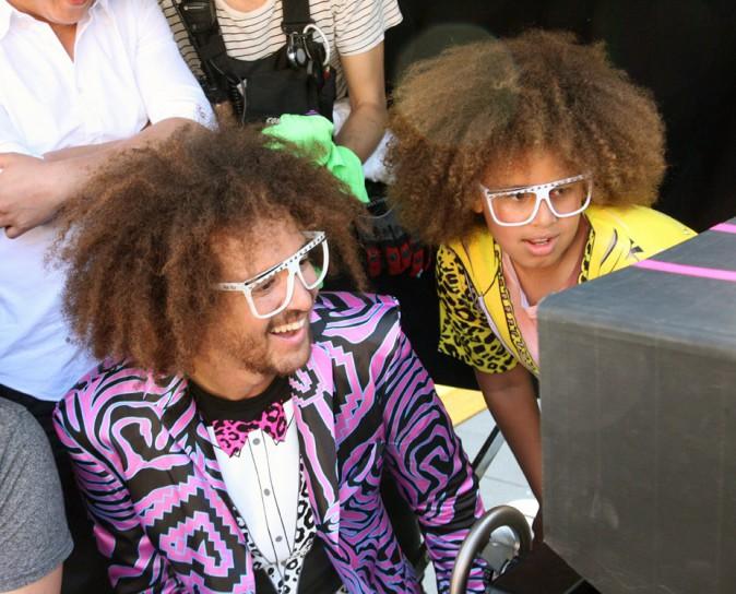 RedFoo sur le tournage de son nouveau clip à Miami le 2 octobre 2013